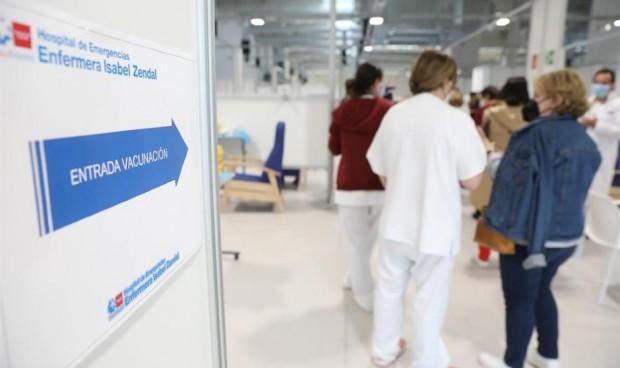 Madrid vacuna del Covid sin cita en horario nocturno en el Wizink y Zendal