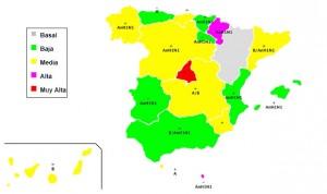 Madrid y Navarra, puntos calientes de la gripe en España