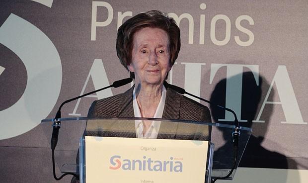 Magarita Salas también 'ayuda' a acabar con el coronavirus
