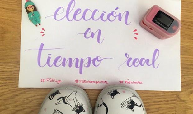"""Manifestación virtual de los MIR: """"No queremos una lotería"""""""