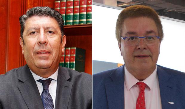 Manuel Vilches y Luis Cortina