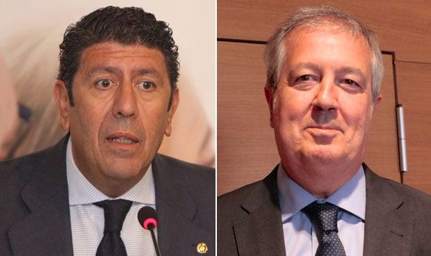 Manuel Vilches y Luis Mayero