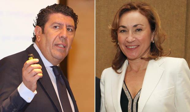 Manuel Vilches y María Martín