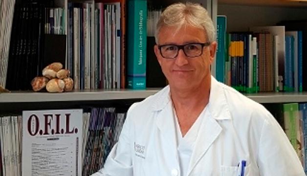 Marco Garbayo, coordinador del Centro de Farmacovigilancia valenciano