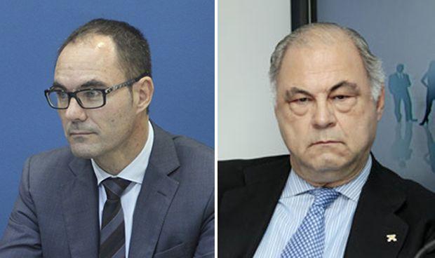 Marcos Guerra e Isidro Díaz de Bustamante