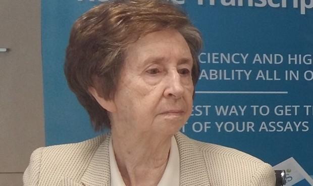 Margarita Salas, a la altura de Curie en el Quirónsalud Zaragoza