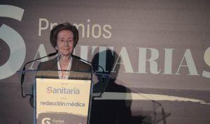 """Margarita Salas: """"Hay muchas mujeres en la sanidad que merecen este premio"""""""