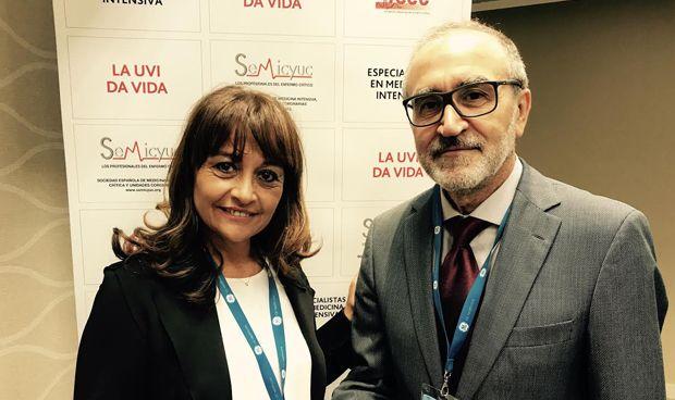 Mari Cruz Martín, primera mujer presidenta de los intensivistas