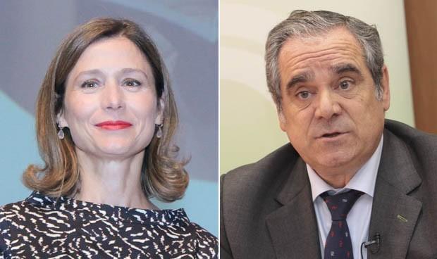 María Jesús Lamas y Jesús Aguilar