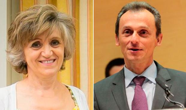 María Luisa Carcedo y Pedro Duque