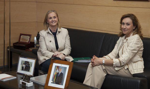 María Martín se reúne con responsables de Fenin