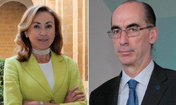 María Martín y Jesús Vázquez Almuíña