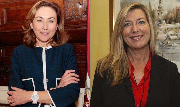 María Martín y Patricia Gómez