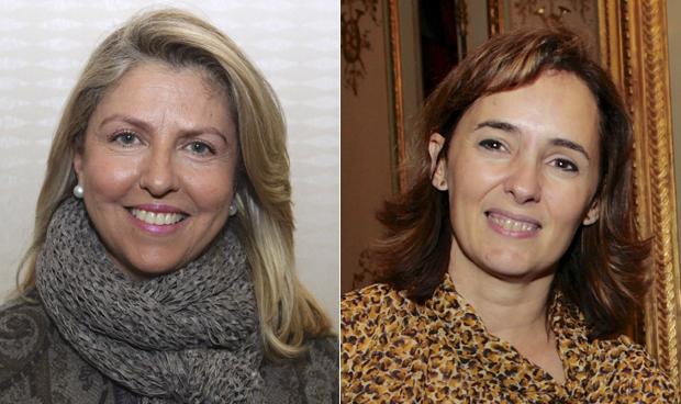 María Río y Marisa Álvarez
