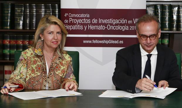 María Río y Jesús Fernández Crespo