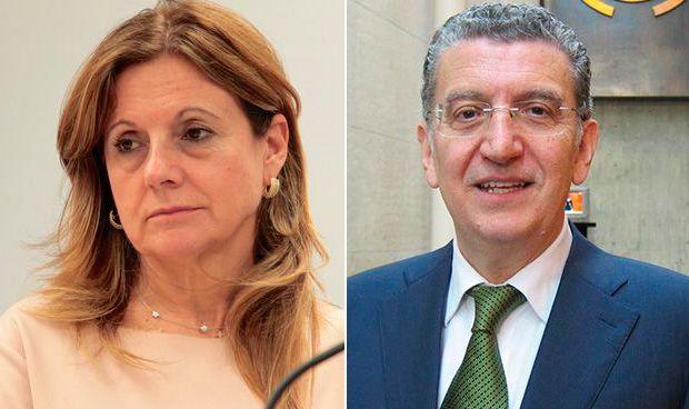 Marina Álvarez y Sebastián Celaya
