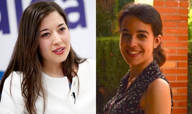 Marina García y Beatriz Atienza