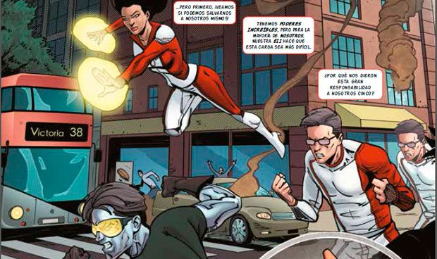 Marvel presenta a los primeros superhéroes con enfermedad intestinal