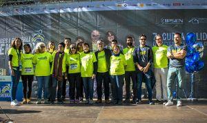 Más de 2.000 corredores homenajean a los pacientes con parálisis cerebral