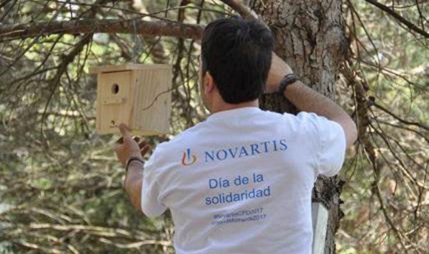 Más de 23.000 empleados de Novartis participan en su Día de la Solidaridad