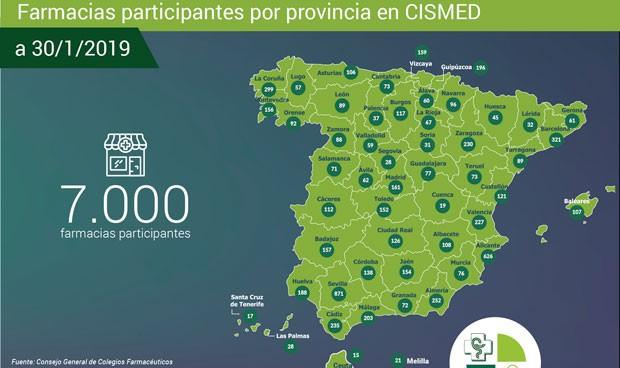 Más de 7.000 farmacias forman parte del sistema informativo de suministro