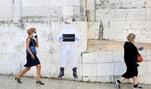 Investigadores portugueses anuncian una mascarilla que inactiva el Covid-19