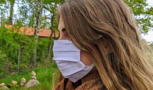 Covid | La humedad que genera la mascarilla de tela tiene efecto protector