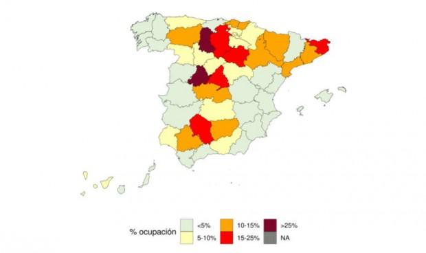 Media España ya tiene UCIs con ocupación Covid de 'nueva normalidad'