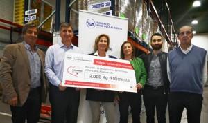 Menarini dona 2.000 kg de comida a la Fundación Banco de Alimentos