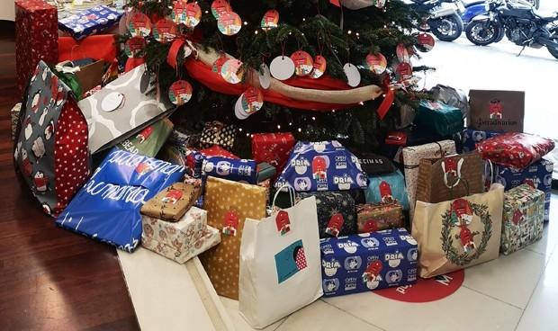 Menarini dona regalos a niños en riesgo de exclusión social