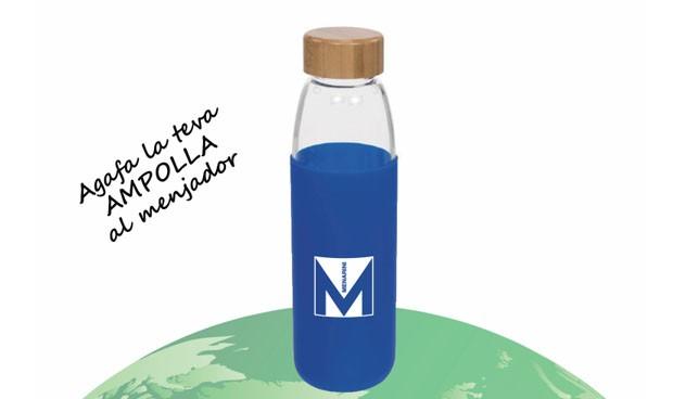 Menarini elimina el plástico de las botellas de agua de su sede