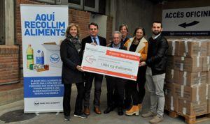 Menarini recauda más de 1.984 kilos de comida para el Banco de Alimentos