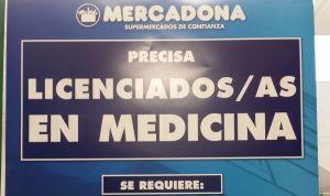 Mercadona busca médicos para cubrir plazas vacantes en siete provincias