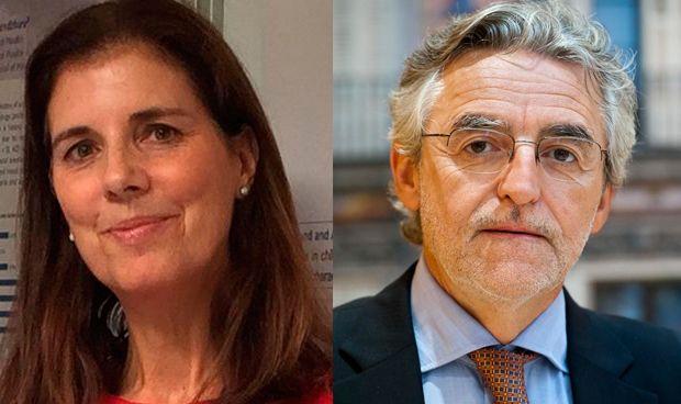 Mercedes Escarrer y Joaquín Sastre