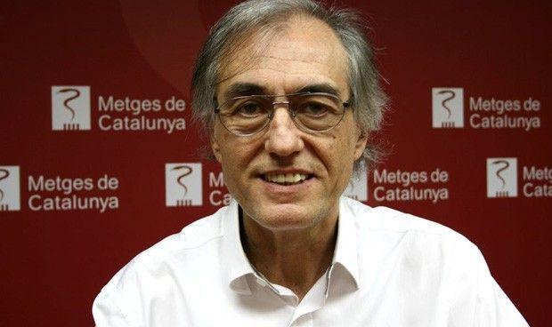 Metges de Catalunya exige a Vergés aumentar el presupuesto sanitario al 7%