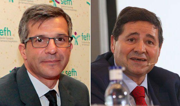 Miguel Ángel Calleja y Joaquín Estévez