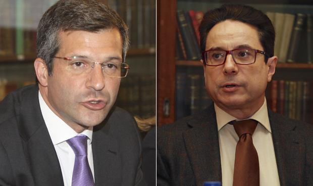 Miguel Ángel Calleja y Miguel Martín