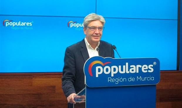 Miguel Ángel Miralles, presidente de la Comisión de Sanidad de Murcia
