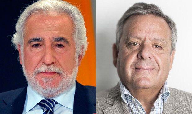 Miguel Ángel Santalices y Julio Ancochea