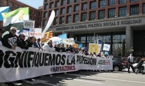 MIR 2021: protesta de los médicos frente a Sanidad por la elección