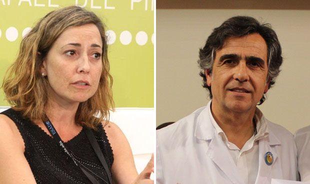 Mónica Almiñana y Álvaro Bonet