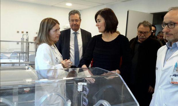 Montón inaugura las nuevas Urgencias pediátricas del Hospital de Llíria