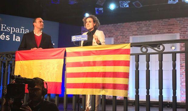 Montserrat, 'delegada' del Gobierno central en la campaña catalana
