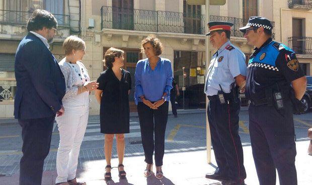 """Montserrat: """"Gracias a la sociedad, luchamos contra el terrorismo"""""""