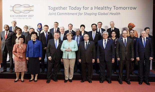 Montserrat participa en la primera reunión del G-20 de ministros de Sanidad