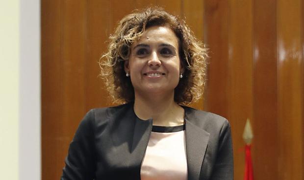 """Montserrat pide """"diálogo"""" para superar el problema catalán"""