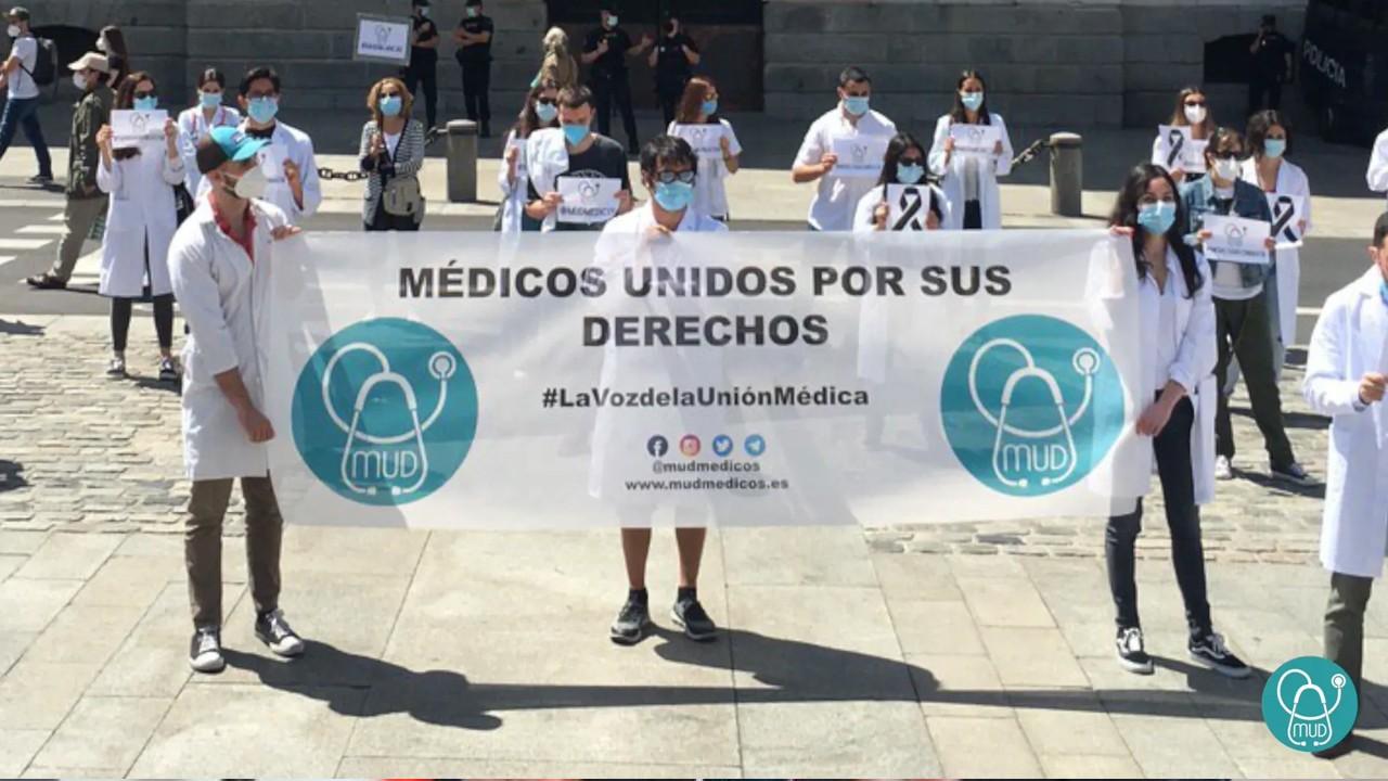 Cinco ciudades, testigos de la manifestación por los derechos médicos