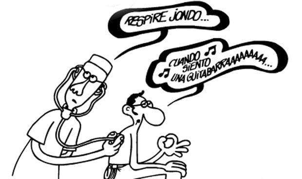 Muere Forges, el humorista que mejor ha dibujado la sanidad española