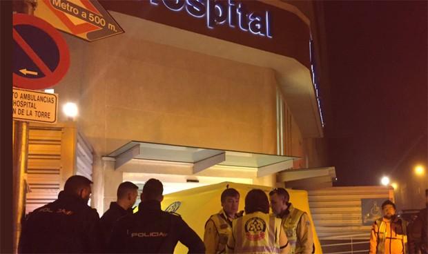 Muere un hombre tiroteado a las puertas de un hospital en Madrid