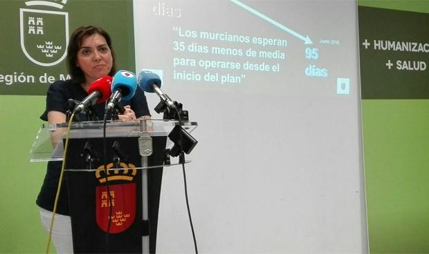 Murcia reduce en 35 días la lista de espera quirúrgica
